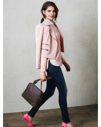 Banana Republic | Pink Boatneck Top | Lyst