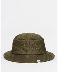 Herschel Supply Co. | Green Lake Quilted Bucket Hat for Men | Lyst