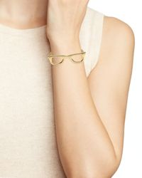 kate spade new york | Metallic Goreski Glasses Bangle | Lyst