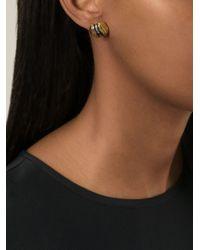 Burberry - Metallic Ball Earrings - Lyst