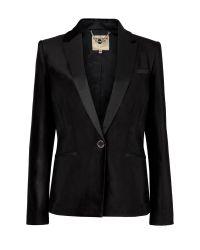Ted Baker | Black Tuxedo Style Velvet Jacket | Lyst