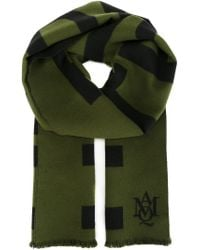 Alexander McQueen - Green Truth Knit Scarf - Lyst