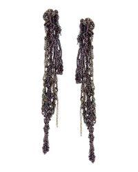 Arielle De Pinto - Purple Earrings - Lyst