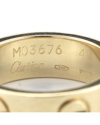 Cartier | Pink Pre-owned 18ky Love Ring | Lyst
