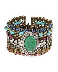 DANNIJO | Green Bracelet | Lyst