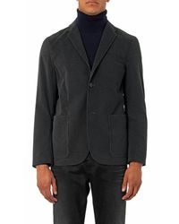 PS by Paul Smith - Gray Deconstructed Corduroy Blazer for Men - Lyst