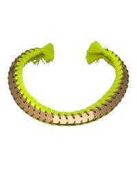 Aurelie Bidermann | Yellow 'copacabana' Necklace | Lyst
