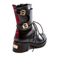 Chiara Ferragni - Black Combat Boot - Lyst