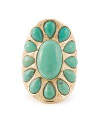 Aurelie Bidermann | Green 'navaho' Ring | Lyst