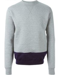 Kolor - Gray ' Beacon' Sweatshirt for Men - Lyst