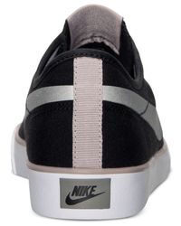 Nike - Black Women'S Primo Court Canvas Casual Sneakers From Finish Line - Lyst