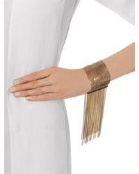 Chloé - Metallic Delfine Fringe Bracelet - Lyst