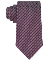 Kenneth Cole Reaction | Purple Modern Natte Tie for Men | Lyst