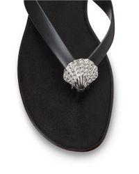 Aerosoles | Black Chlarity Thong Sandals | Lyst