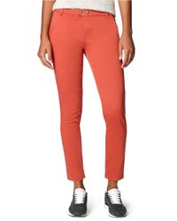 Calvin Klein Jeans - Red Slim Ankle Biter Jeans - Lyst