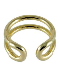 Giles & Brother | Metallic Tiny Cortina Ring | Lyst