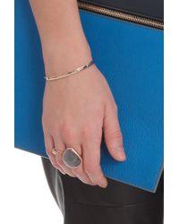 Monica Vinader | Metallic Labradorite Siren Coktil Ring | Lyst