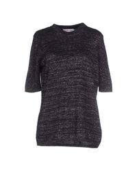See By Chloé - Black Woolblend Sweater - Lyst
