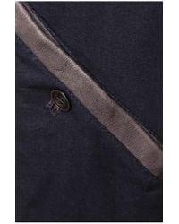 BOSS Orange   Gray 'jelon'   Sheepskin Biker Jacket for Men   Lyst
