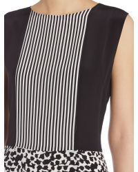 Part Two - Multicolor Silk Feminine Shift Shape Dress. - Lyst