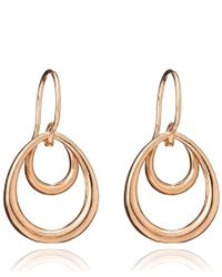 Dinny Hall - Pink Small Rose Gold Vermeil Toro Earrings - Lyst