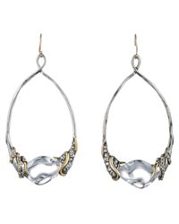 Alexis Bittar | Metallic Jardin Mystã¨re Vine Wrapped Link Earring You Might Also Like | Lyst