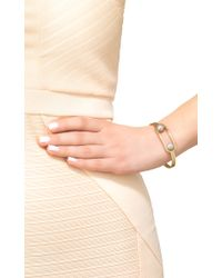 Melanie Georgacopoulos - Gray Flow Double Pearl Bangle - Lyst