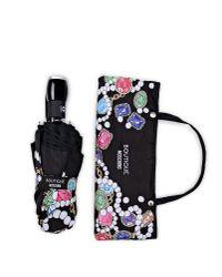 Boutique Moschino - Black Mini Umbrella - Lyst