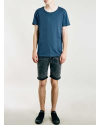 SELECTED | Blue T-shirt for Men | Lyst