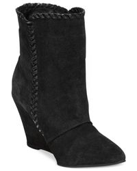 Charles by Charles David | Black Naya Booties | Lyst