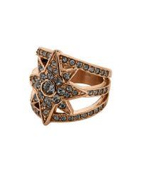 Dyrberg/Kern | Black Staray Ring | Lyst