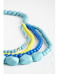 Ana Accessories Inc - Pep It Up Necklace In Blue Sky - Lyst