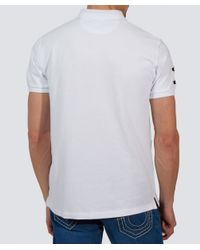 Hackett | White Tailored Fit Classic Polo Shirt for Men | Lyst