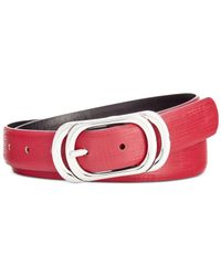 Style & Co. | Purple Style&co. Oval Reversible Belt, Only At Macy's | Lyst
