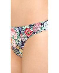 Zimmermann - Multicolor Floral Skinny Bikini Bottoms - Lyst
