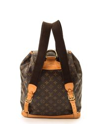 Louis Vuitton - Brown Monogram Montsouris Gm Backpack - Lyst