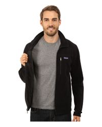 Patagonia | Black Micro D Jacket for Men | Lyst