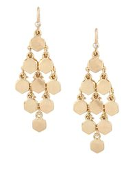 Kenneth Cole | Metallic Geometric Chandelier Earrings | Lyst