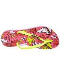 Havaianas - Pink Slim Cool Flip Flops - Lyst
