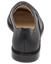 BCBGeneration - Black Briskb Perforated Oxford Flats - Lyst