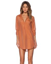 CP Shades | Orange Teton Tunic | Lyst