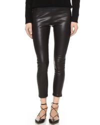 ThePerfext | Black Broadway Leather Pants | Lyst