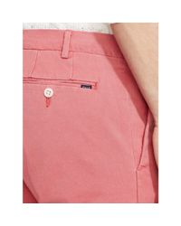 Polo Ralph Lauren | Pink Slim-fit Stretch Chino for Men | Lyst