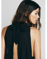 Free People | Black Endless Summer Womens Pretty Tent Tunic | Lyst