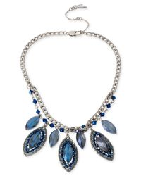 Kenneth Cole - Blue Woven Faceted Bead Necklace for Men - Lyst