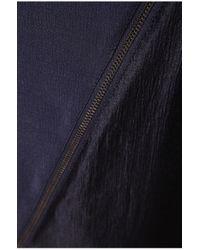 BOSS Orange | Blue Long-sleeve Top In Viscose Blend: 'krepa' | Lyst