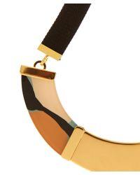 Marni - Metallic Gold-Tone Resin Bib Necklace - Lyst