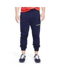 Ralph Lauren - Blue Fleece Pant for Men - Lyst
