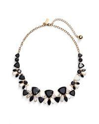 kate spade new york | Multicolor 'twinkle Lights' Frontal Necklace - Neutral Multi | Lyst