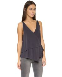 Free People | Babe Town Tank - Black | Lyst